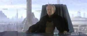 El siguiente escalafón ya era Emperador de la Galaxia
